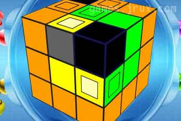 puzzle flash game cube