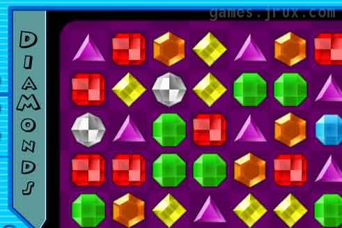 puzzle flash game diamonds fun