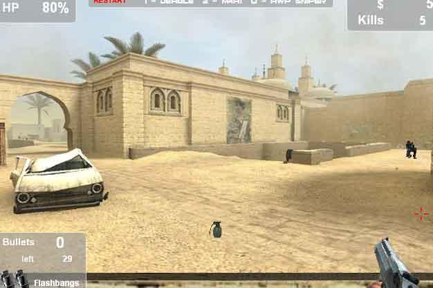 counterstrike flash game