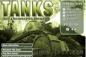 tanks flash game just like worms